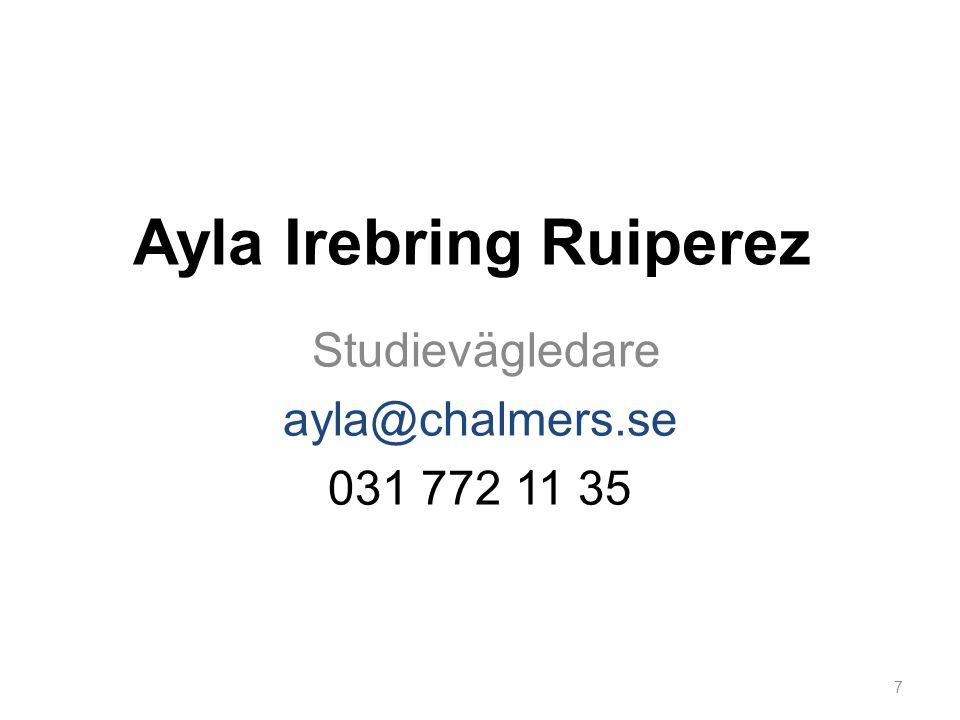 Ayla Irebring Ruiperez