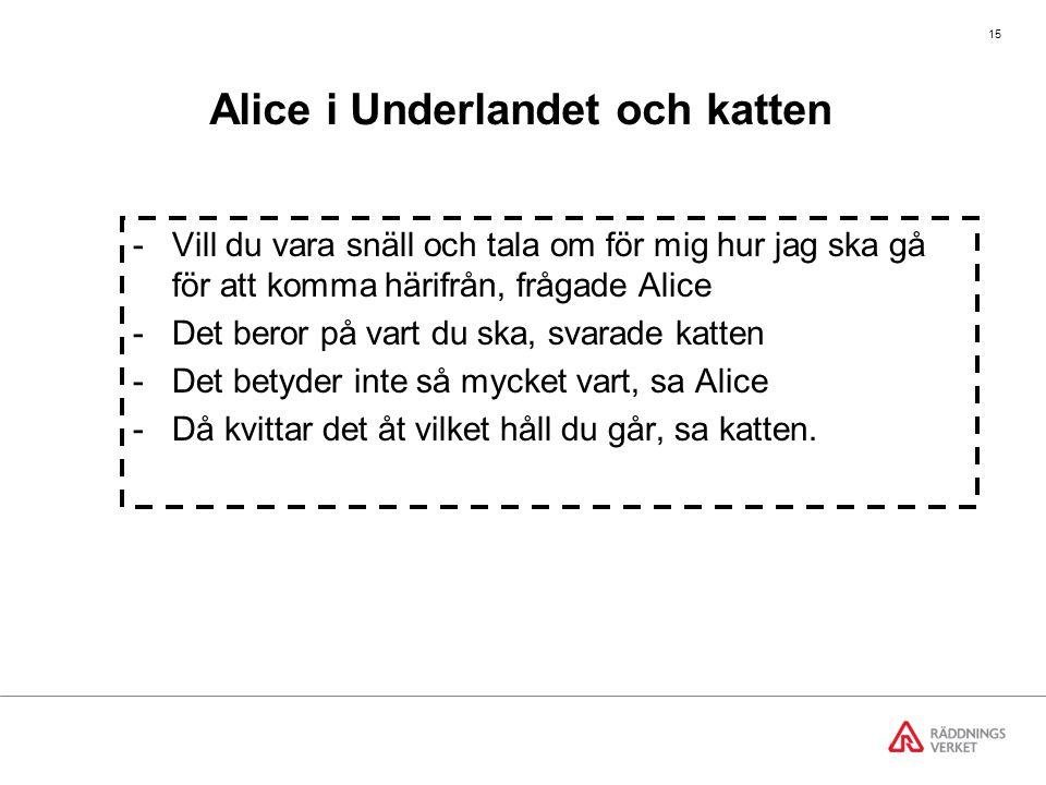 Alice i Underlandet och katten