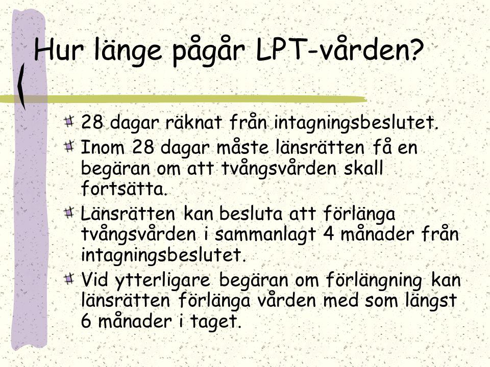 Hur länge pågår LPT-vården