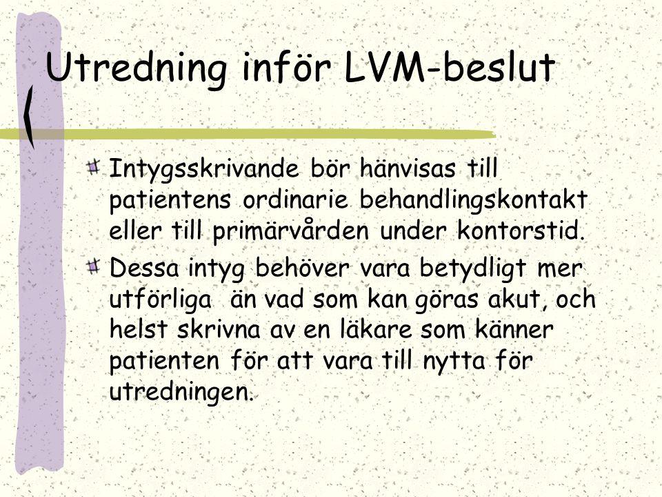 Utredning inför LVM-beslut