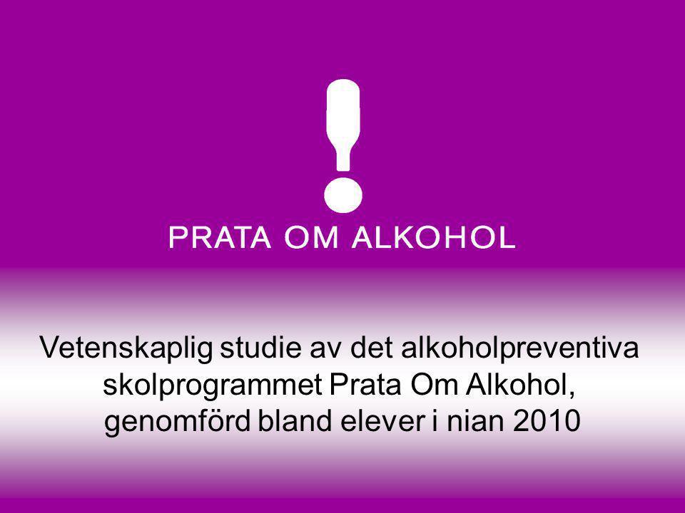 Vetenskaplig studie av det alkoholpreventiva