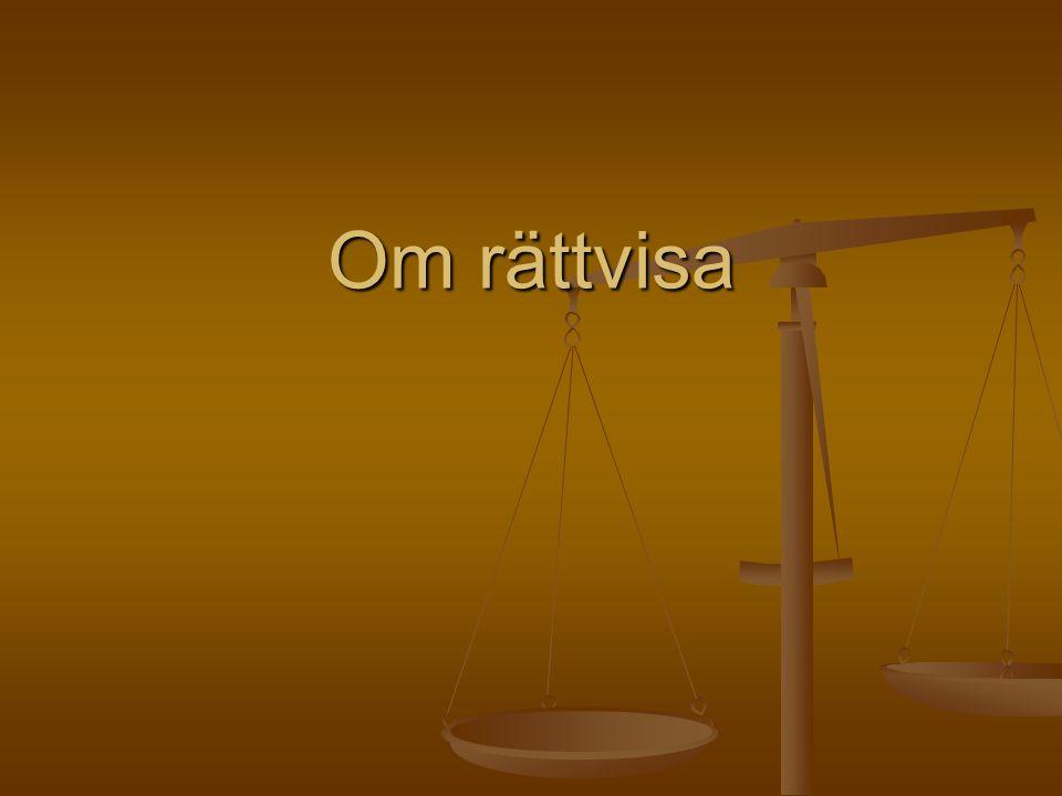 Om rättvisa