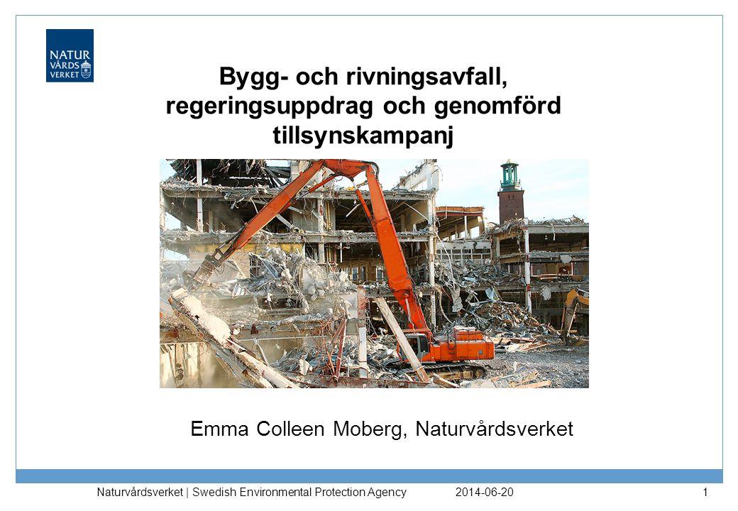 Emma Colleen Moberg, Naturvårdsverket