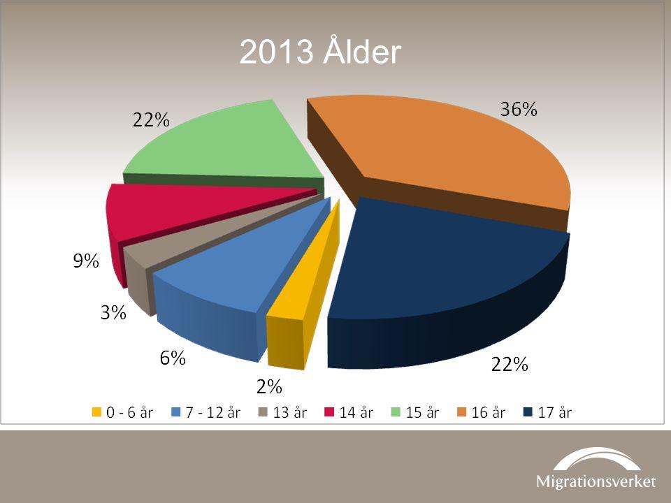 2013 Ålder