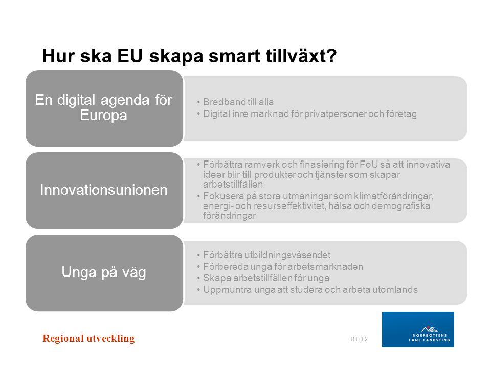 Hur ska EU skapa smart tillväxt