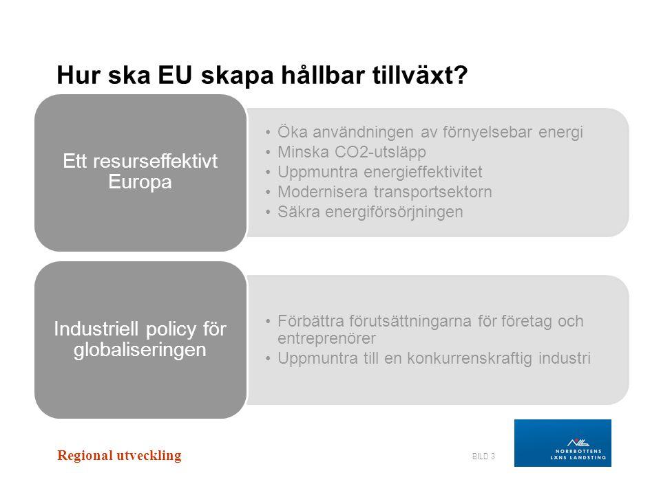 Hur ska EU skapa hållbar tillväxt