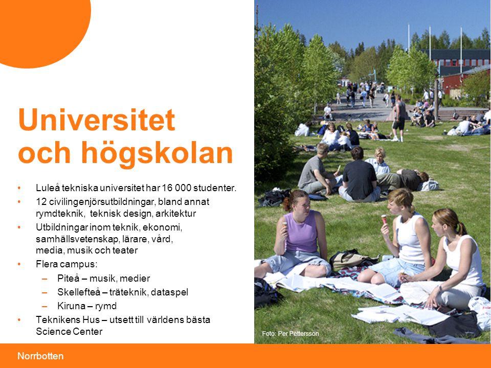 Universitet och högskolan