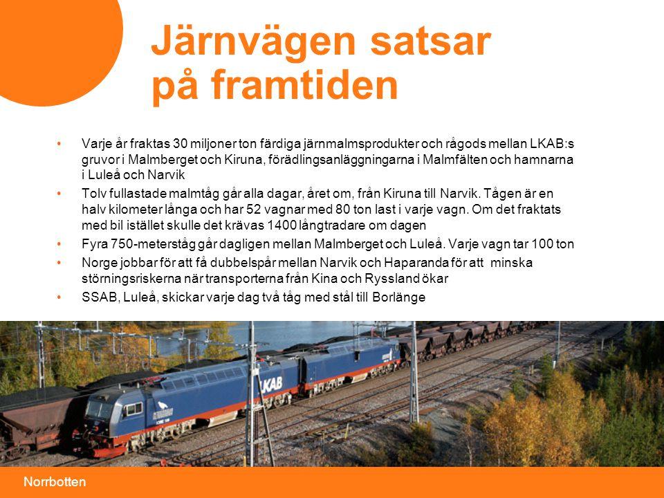 Järnvägen satsar på framtiden