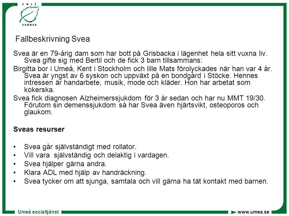 Fallbeskrivning Svea
