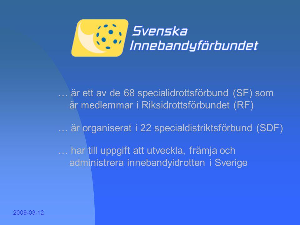 SIBF 1 … är ett av de 68 specialidrottsförbund (SF) som är medlemmar i Riksidrottsförbundet (RF)