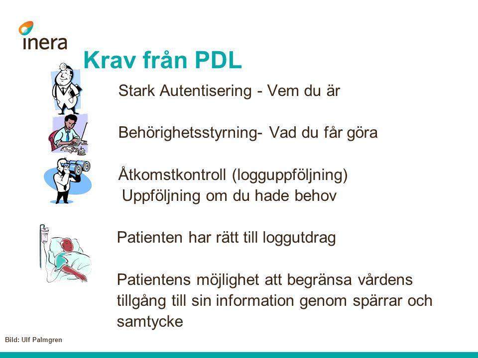 Krav från PDL