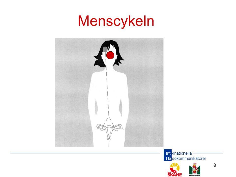 Menscykeln Varje månad bildas ett hormon i hypofysen i hjärnan som signalerar till äggstockarna att ett ägg ska mogna.
