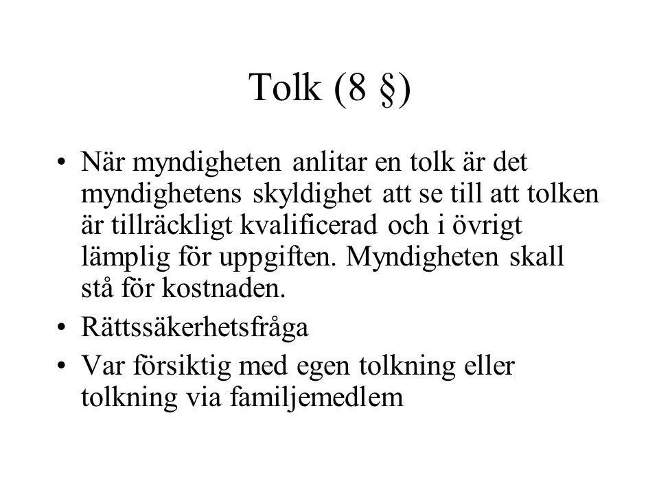 Tolk (8 §)