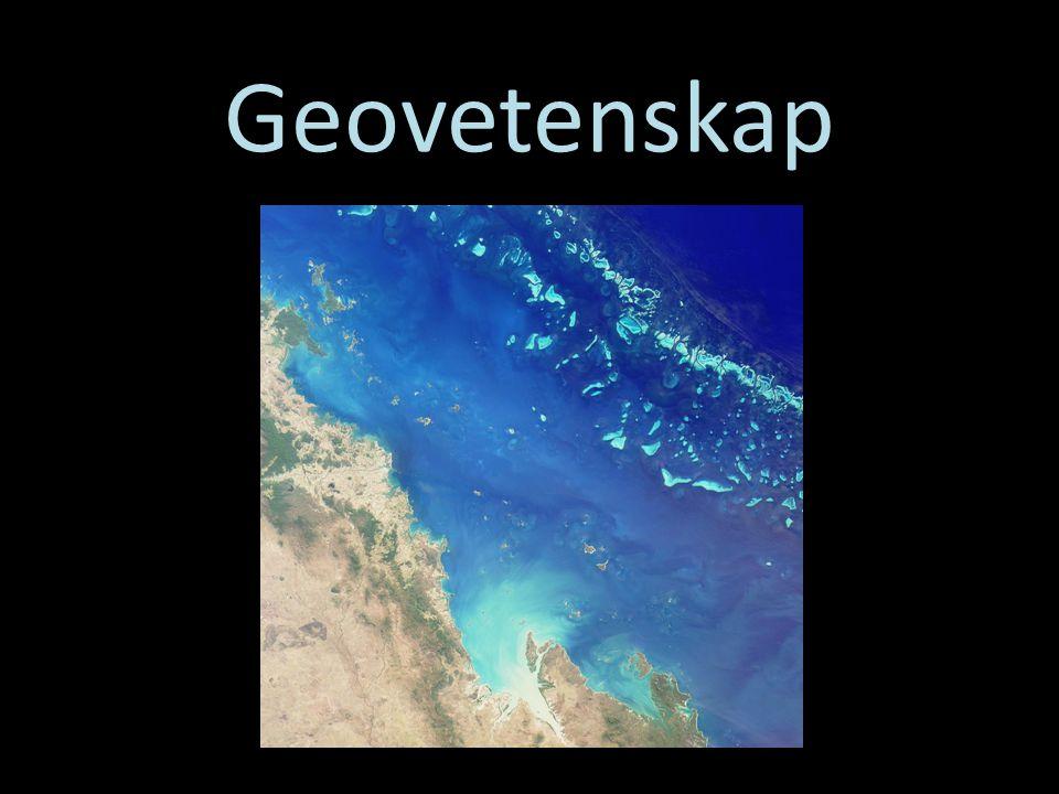 Geovetenskap