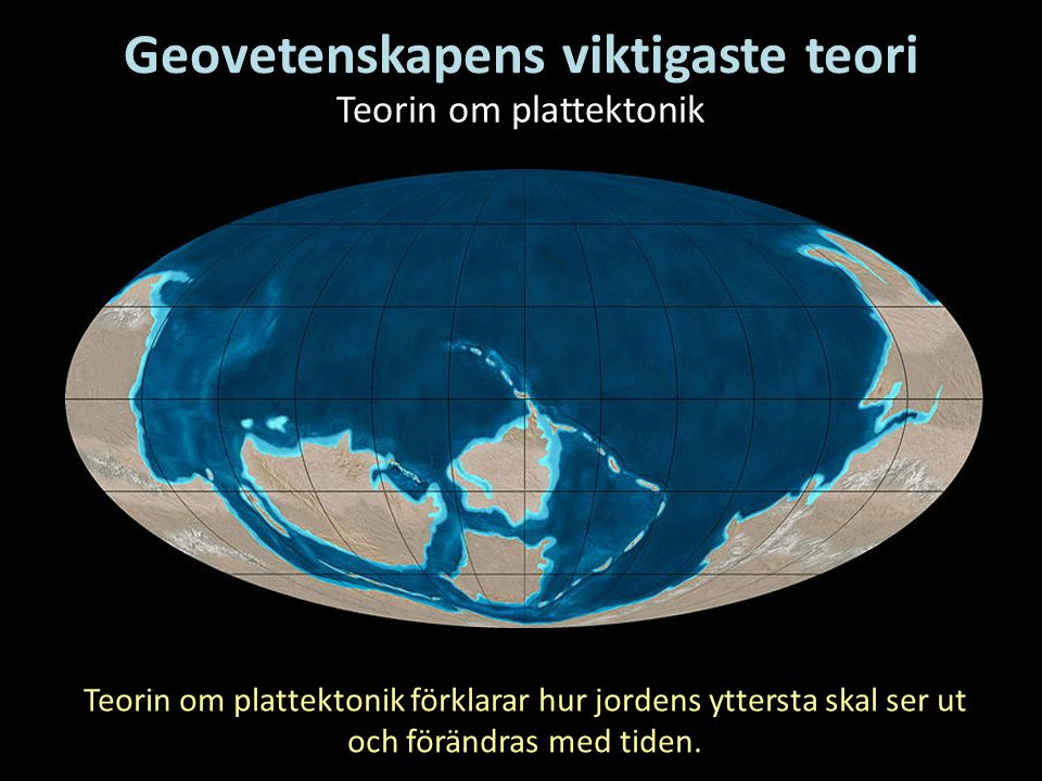 Geovetenskapens viktigaste teori
