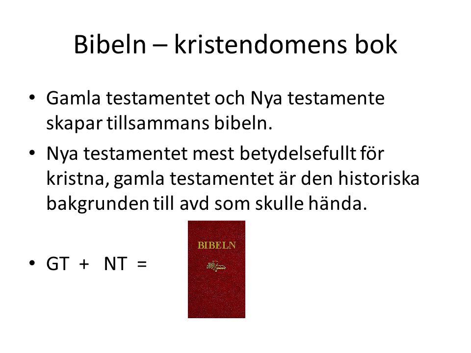 Bibeln – kristendomens bok