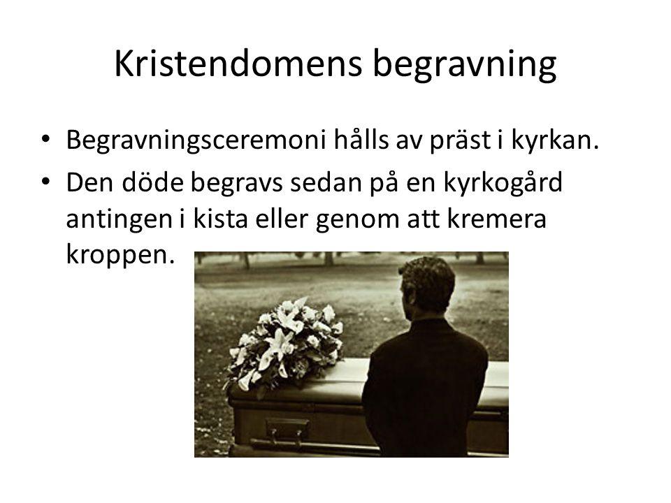 Kristendomens begravning