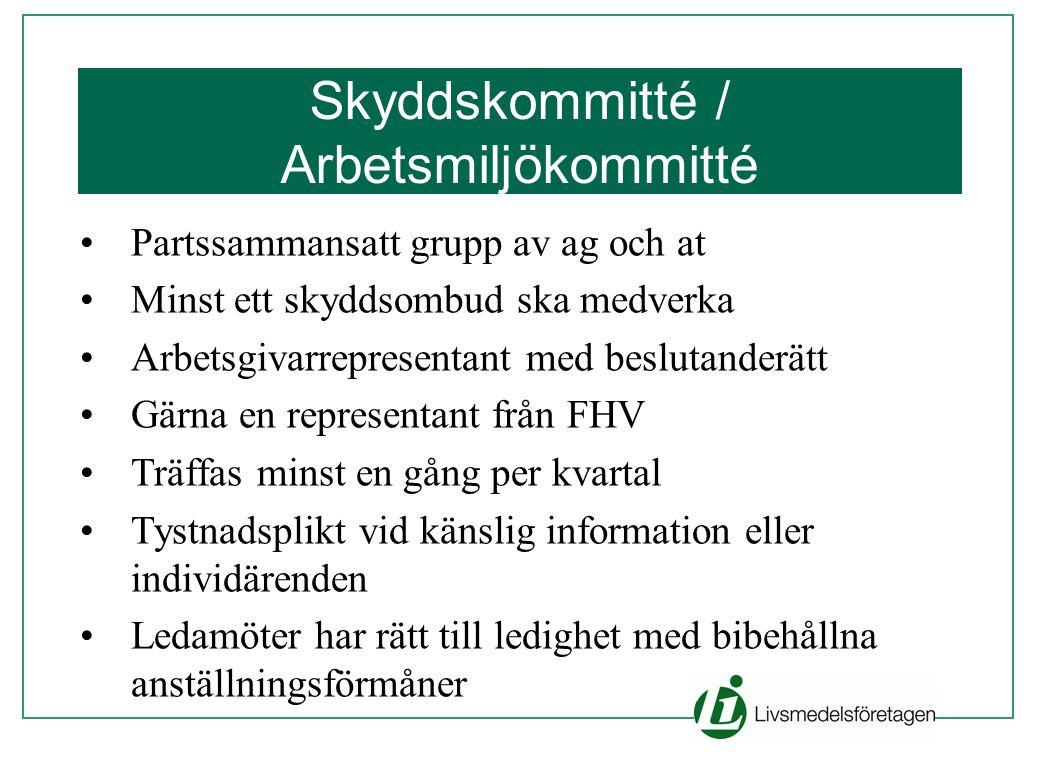 Skyddskommitté / Arbetsmiljökommitté
