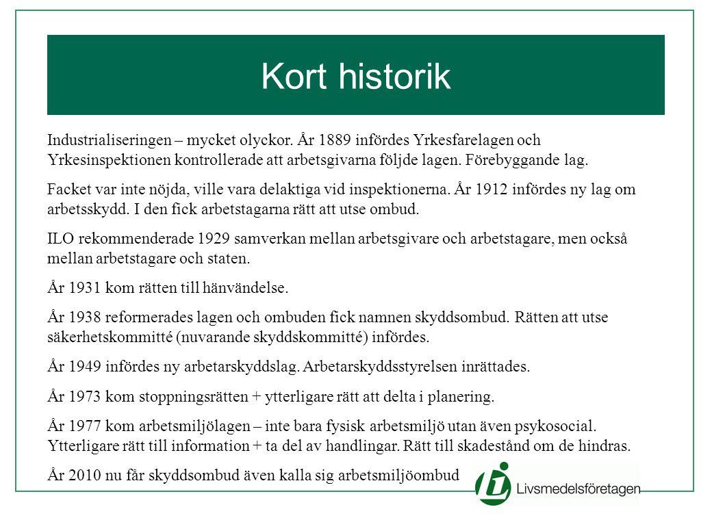 Kort historik
