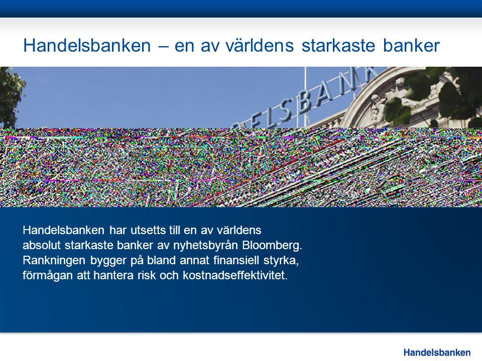 Handelsbanken – en av världens starkaste banker
