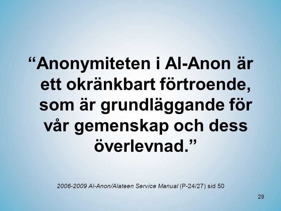 2006-2009 Al-Anon/Alateen Service Manual (P-24/27) sid 50
