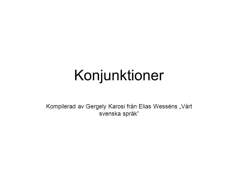"""Kompilerad av Gergely Karosi från Elias Wesséns """"Vårt svenska språk"""