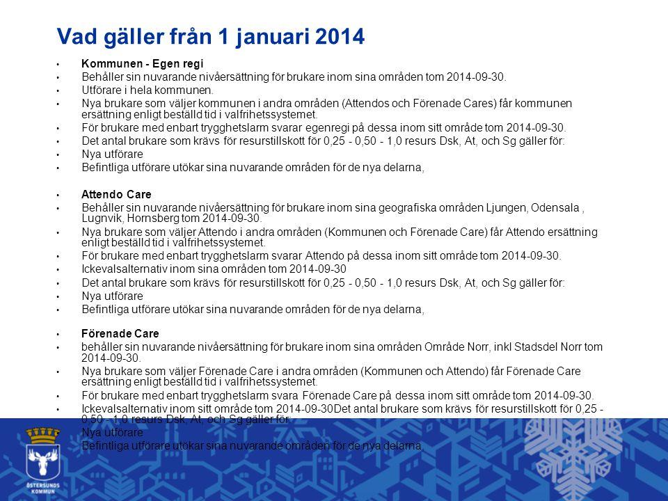 Vad gäller från 1 januari 2014