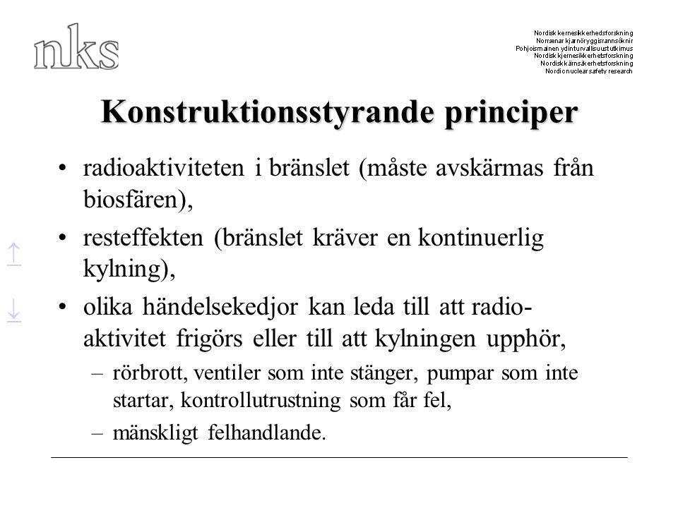 Konstruktionsstyrande principer