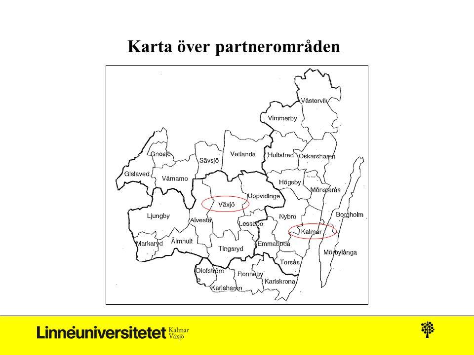 Karta över partnerområden