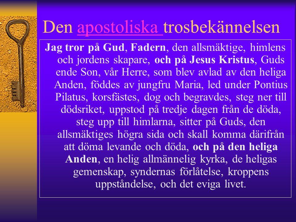 Den apostoliska trosbekännelsen