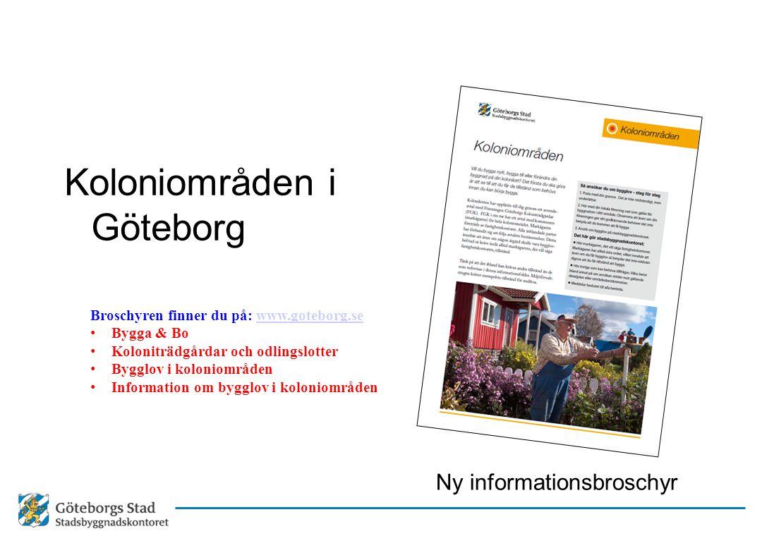 Koloniområden i Göteborg