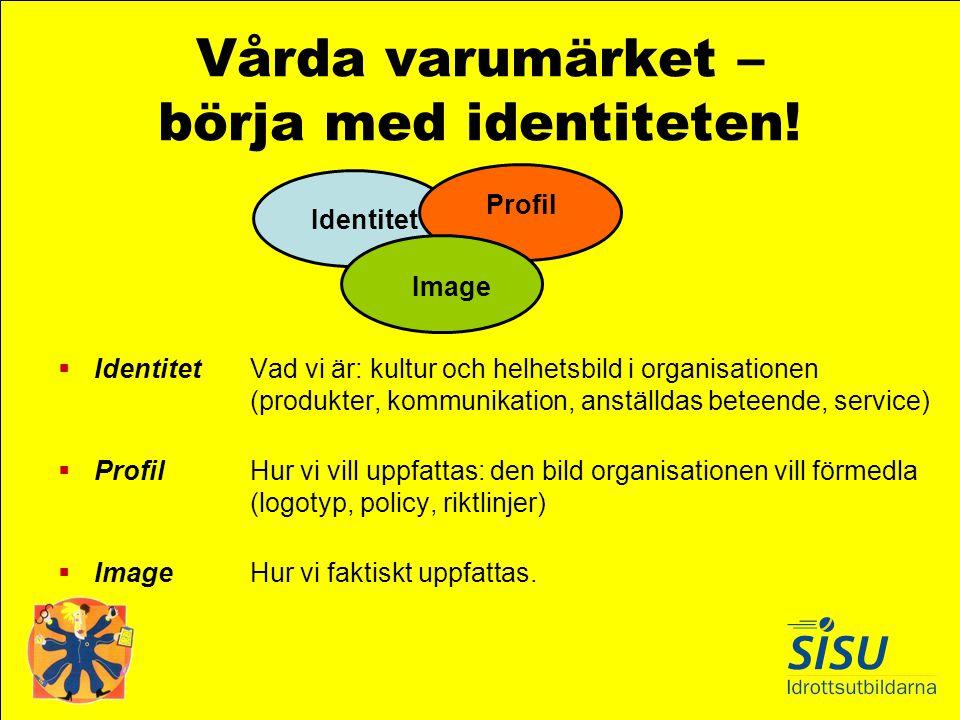 Vårda varumärket – börja med identiteten!