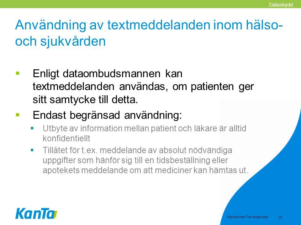 Användning av textmeddelanden inom hälso- och sjukvården