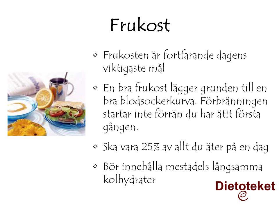 Frukost Dietoteket Frukosten är fortfarande dagens viktigaste mål