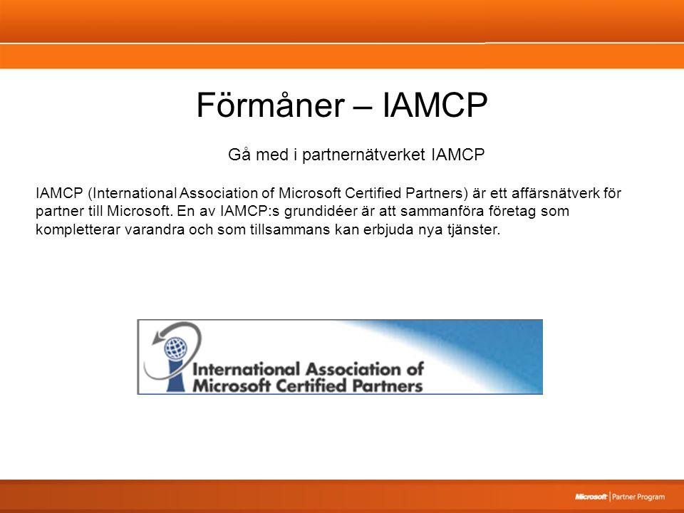 Gå med i partnernätverket IAMCP