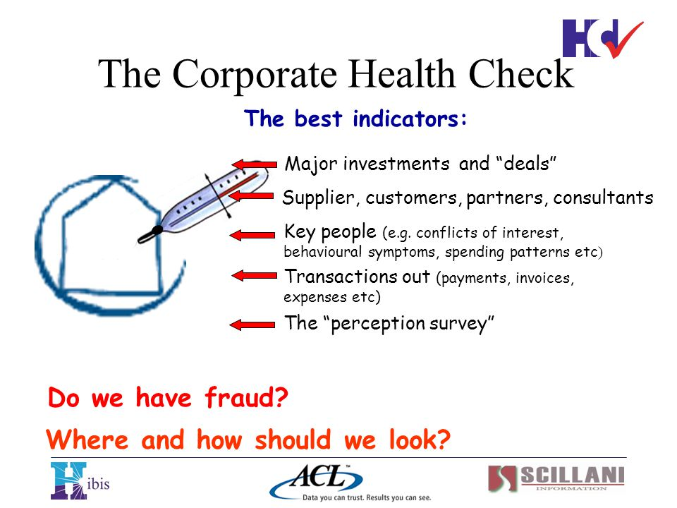 The Corporate Health Check
