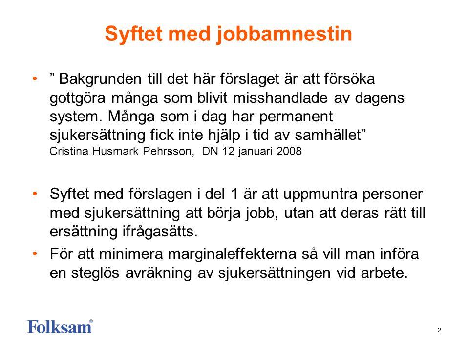 Syftet med jobbamnestin