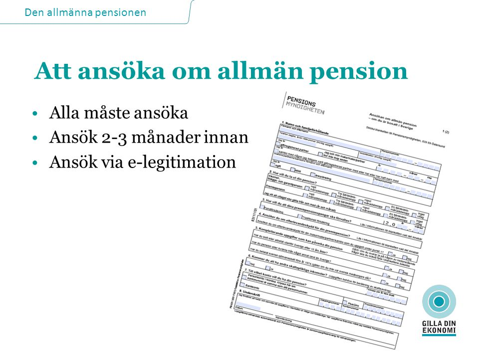 livränta pension