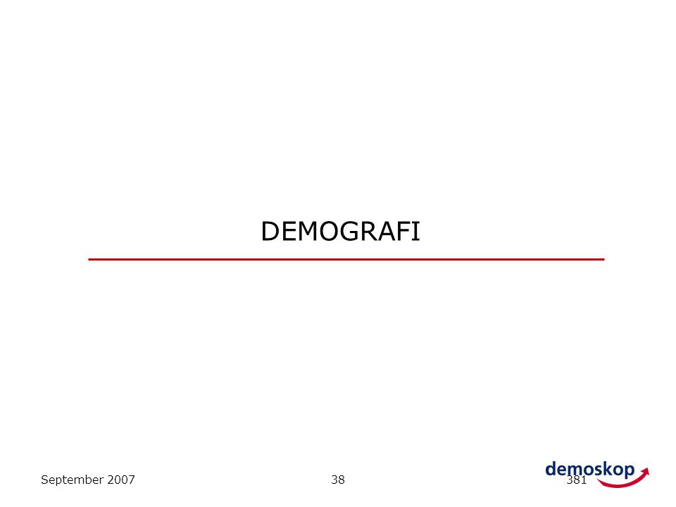 DEMOGRAFI September 2007 38