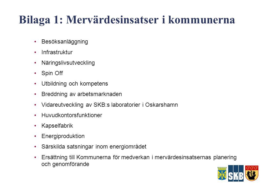 Bilaga 1: Mervärdesinsatser i kommunerna