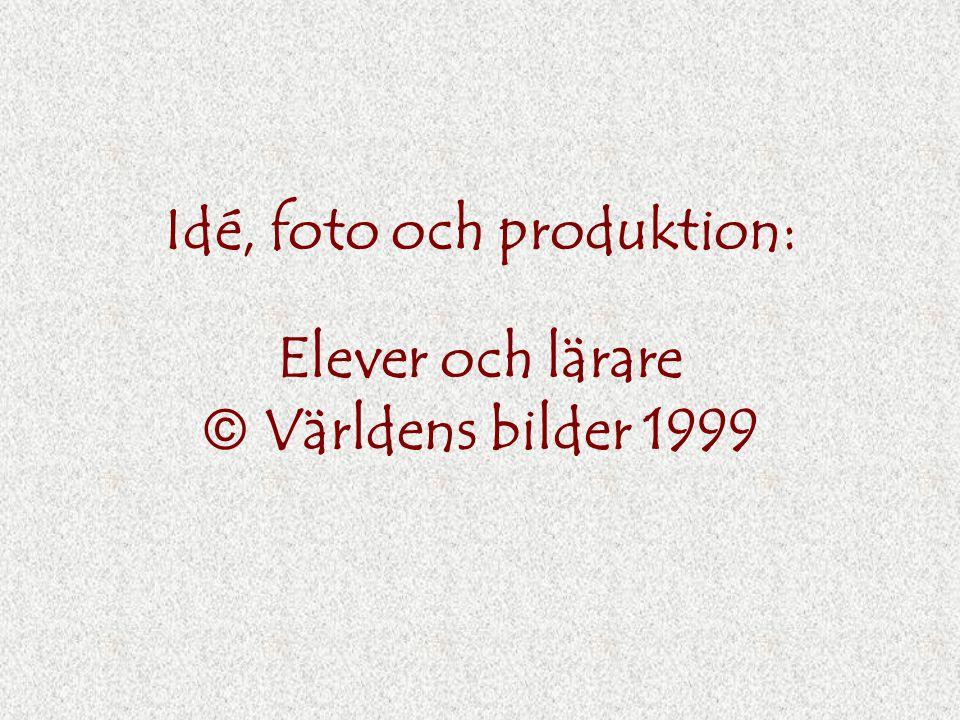 Idé, foto och produktion: