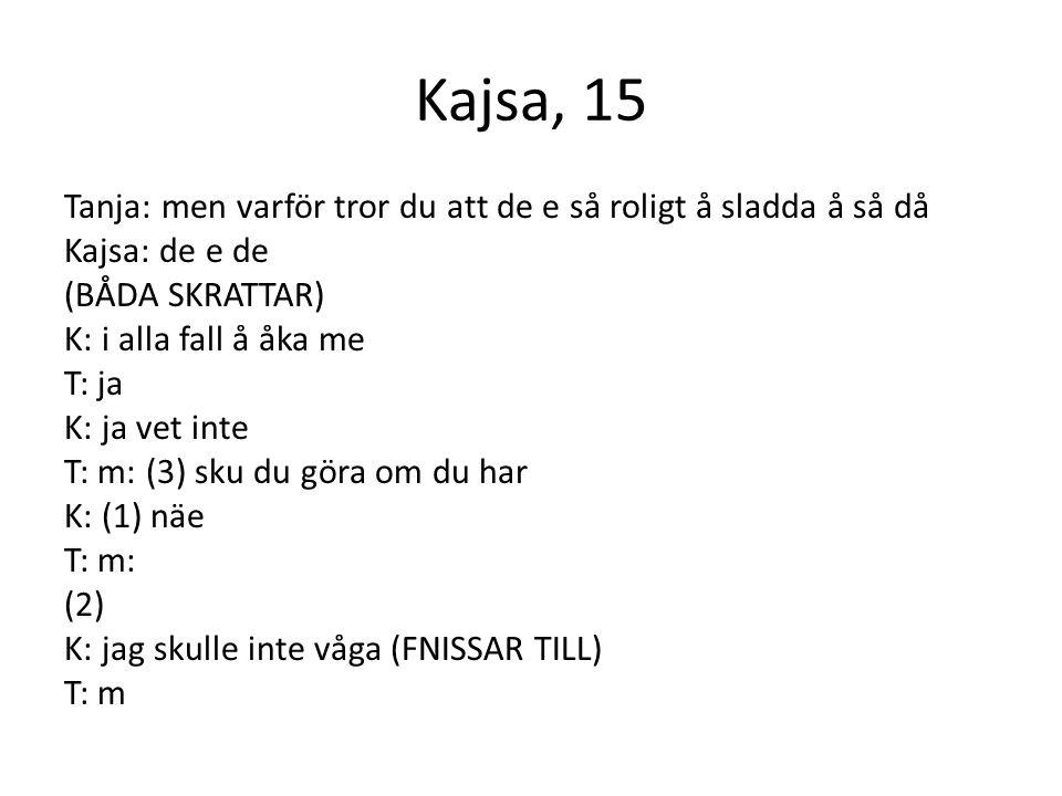 Kajsa, 15