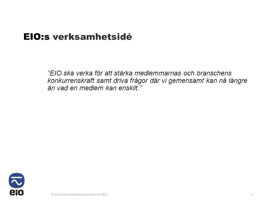EIO:s verksamhetsidé