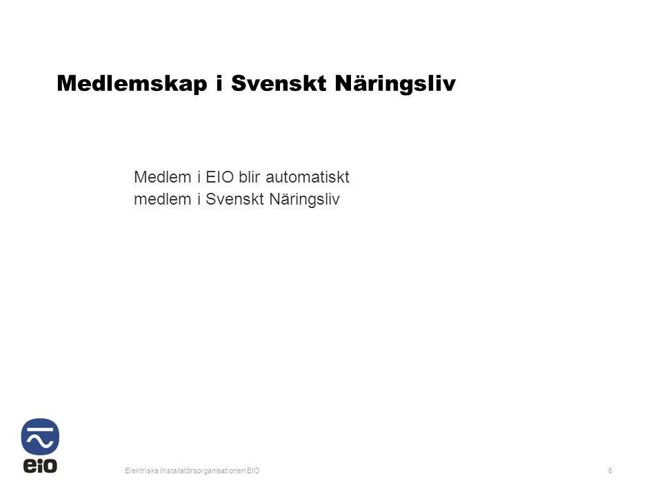 Medlemskap i Svenskt Näringsliv