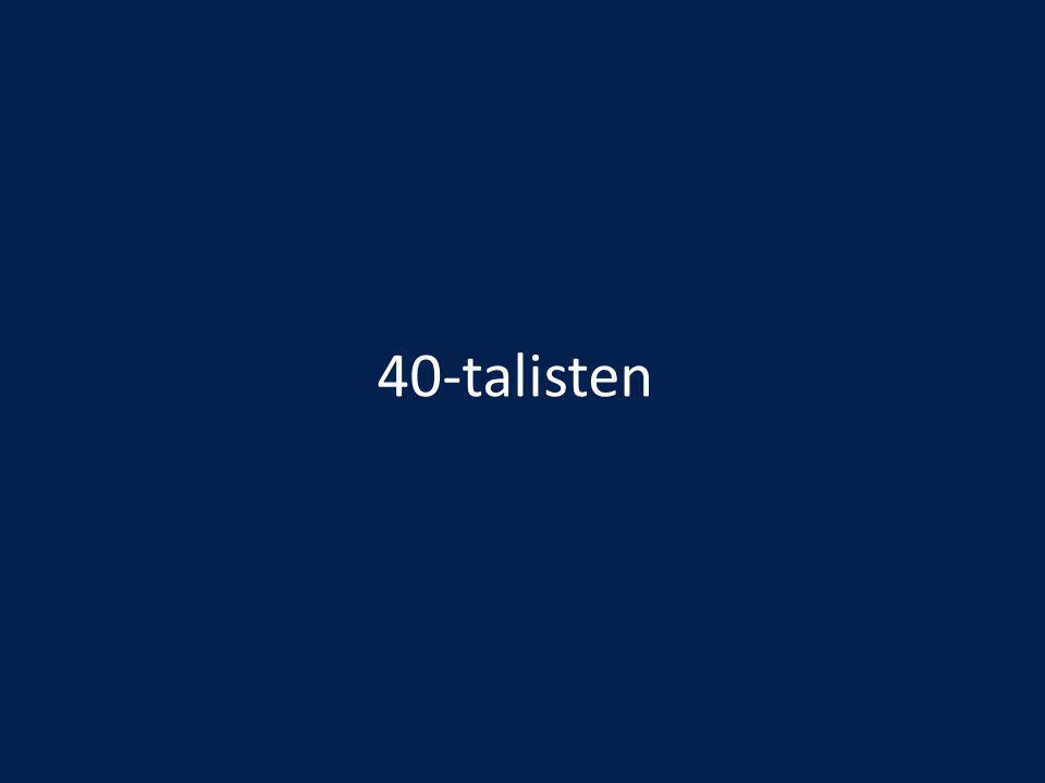 40-talisten