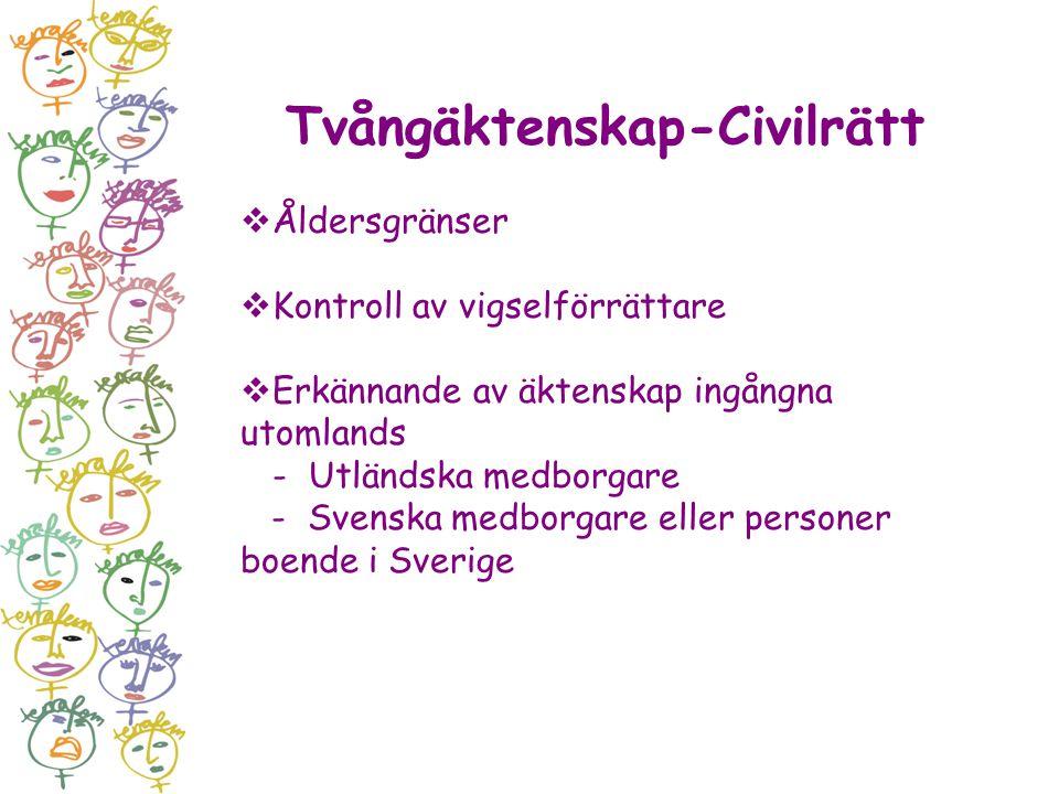Tvångäktenskap-Civilrätt