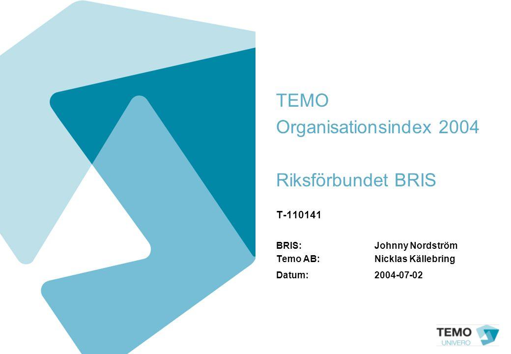 TEMO Organisationsindex 2004 Riksförbundet BRIS T-110141