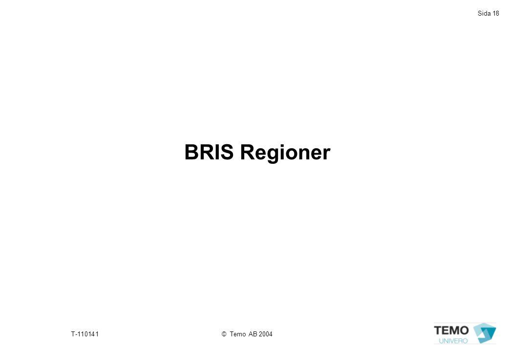 BRIS Regioner