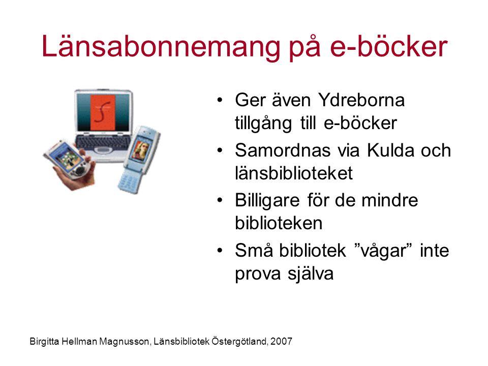 Länsabonnemang på e-böcker