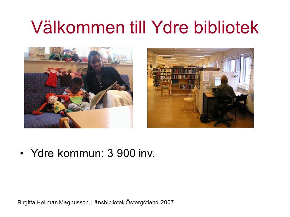 Välkommen till Ydre bibliotek